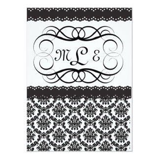 All Occasion Elegant Wedding/Anniversary/Retiremen 5.5x7.5 Paper Invitation Card
