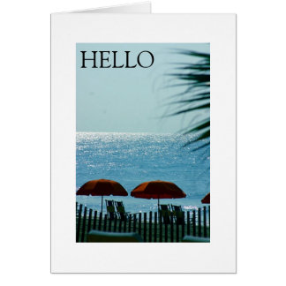 ALL OCCASION GREETING BEACH STYLE CARD