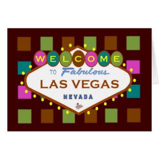 All Occasion Las Vegas Colorful Fun Card