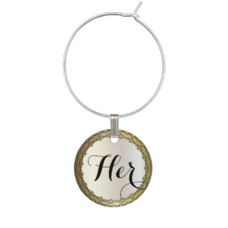 All Occasions | DIY Text Wine Glass Charm