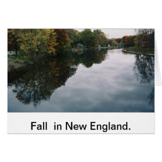 All occassion card: New England in Fall Card
