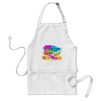 All of me loves all of you adult apron