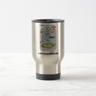 All Of My Cells Go Through A Cycle (Biology) 15 Oz Stainless Steel Travel Mug