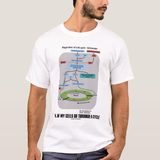 All Of My Cells Go Through A Cycle (Cell Biology) T-Shirt