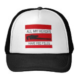 All of My Heros Trucker Hat