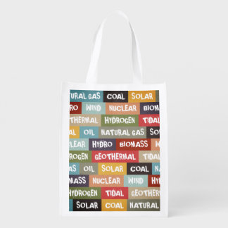 All Of The Above Reusable Grocery Bags