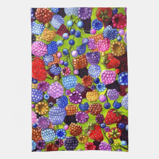 All Of The Berries American Mojo kitchen towel
