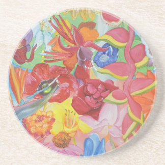 All of the Flowers Drink Coaster