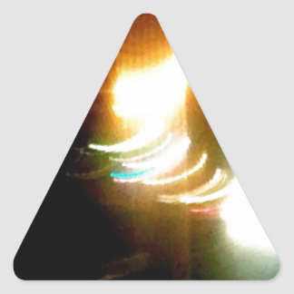 All of the Lights Triangle Sticker