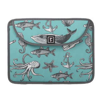 All Of The Sea Pattern Sleeve For MacBook Pro