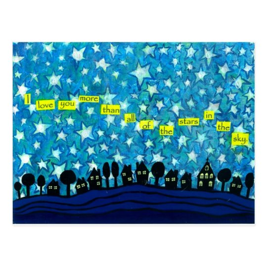 All of the Stars in the Sky Postcard