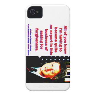 All Of You Know - Bill Clinton iPhone 4 Cover