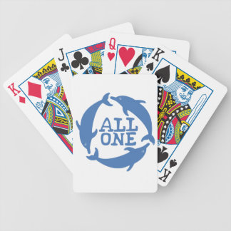 All One Bicycle Playing Cards