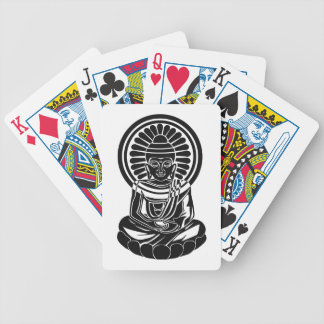 All One Buddha Bicycle Playing Cards