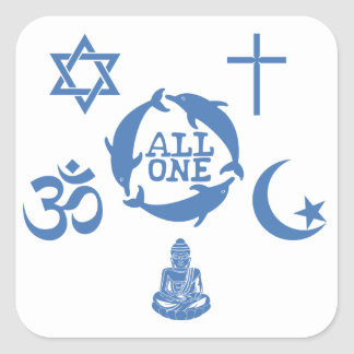 All One Together Stickers