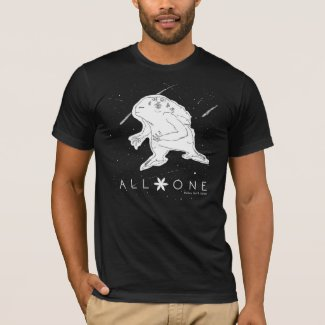 ALL ONE UNIVERSE - Celestial Beings T-Shirt