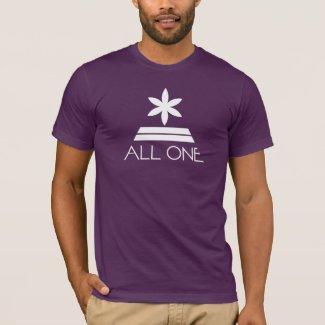 ALL ONE UNIVERSE - Purple Pyramid T-Shirt