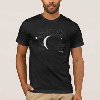 ALL ONE UNIVERSE - We Live Here - Planet Earth - T-Shirt
