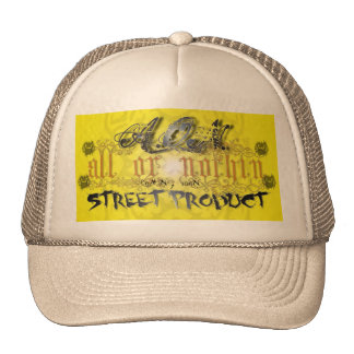 ALL OR NOTHIN TRUCKER HAT