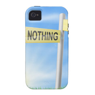 All or nothing sign in field vibe iPhone 4 cover