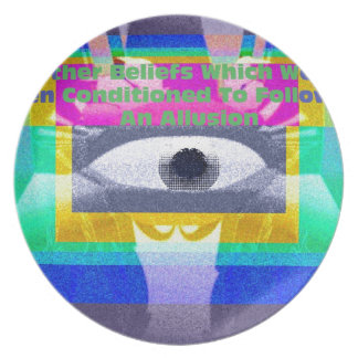 All other beliefs dinner plate