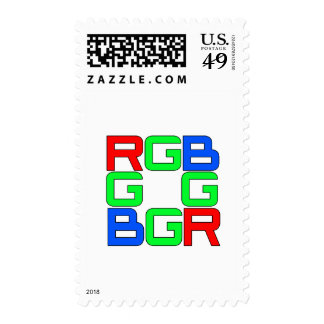 All Our RGB Postage