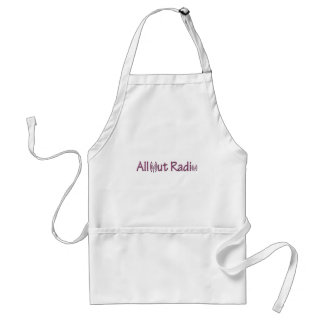 All Out Radio Merch/ Apparel Adult Apron