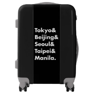 All Over Asia Popular Cities List Carry On Luggage