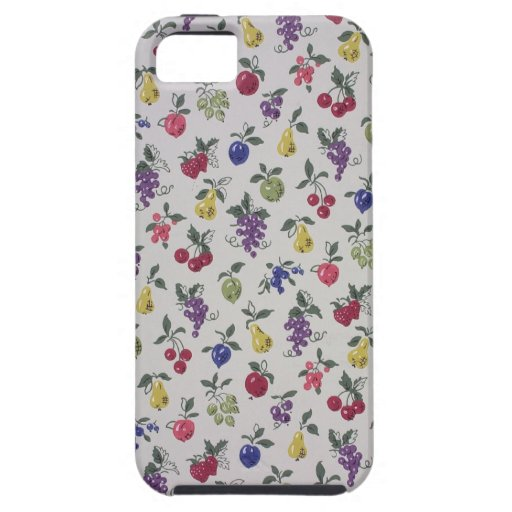All Over Fruits wallpaper, 1945-1955 iPhone 5 Covers