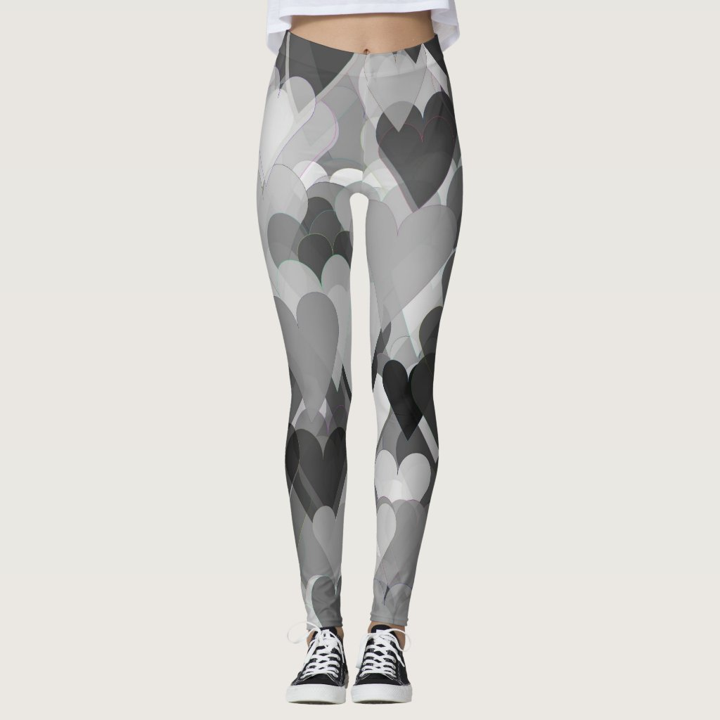 All Over Hearts Women's Leggings