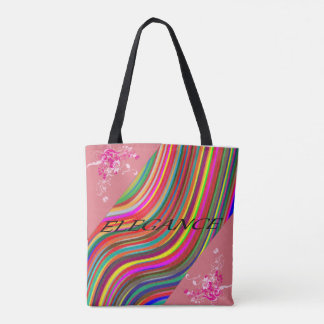 All-Over-Print colorful tote bag