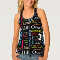 All Over Print Graffiti 30th Birthday Art Tank Top