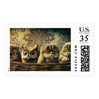 All-Over-Print Postal stamp design