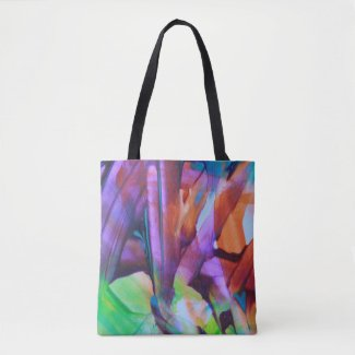All Over Print Tote Bag - Art by Amazing Jace