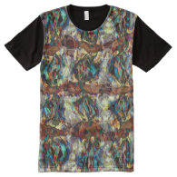 All Over Printed Panel T-shirts All-Over Print T-shirt