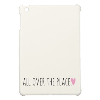 All over the Place with Heart iPad Mini Cases