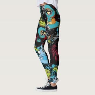All over zombie leggings