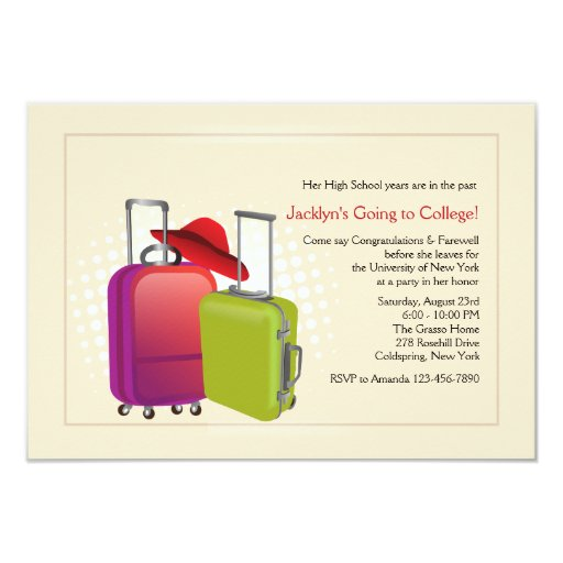 Going Away Party Invitation for amazing invitations layout