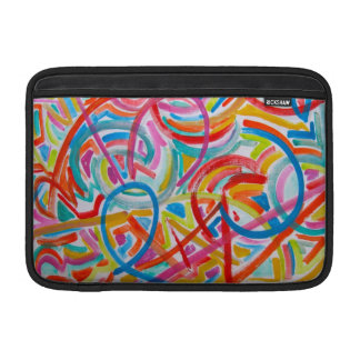 All Paths End There - Abstract Art MacBook Sleeve