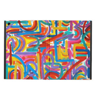 All Paths Go There - Abstract Art Handpainted iPad Air Cases