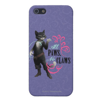 All Paws No Claws (color) Cover For iPhone SE/5/5s
