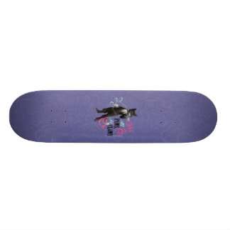 All Paws No Claws (color) Skateboard