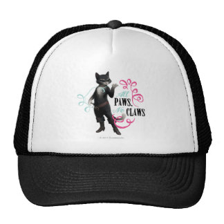 All Paws No Claws (color) Trucker Hat