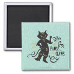 All Paws No Claws Fridge Magnets