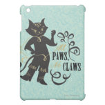 All Paws No Claws iPad Mini Cover