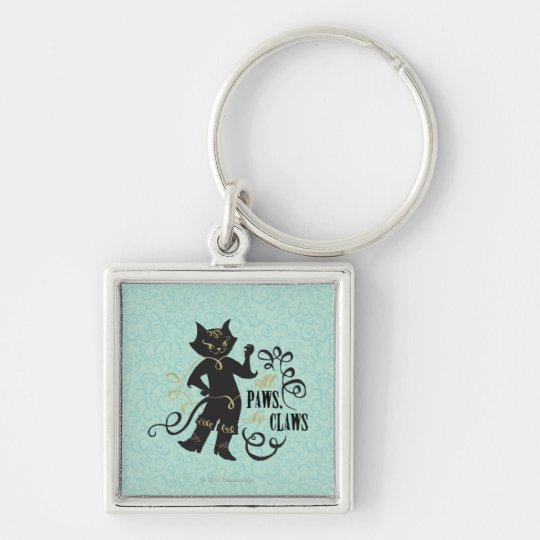 All Paws No Claws Keychain