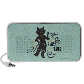 All Paws No Claws Notebook Speakers