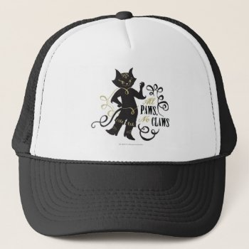 All Paws No Claws Trucker Hat by pussinboots at Zazzle