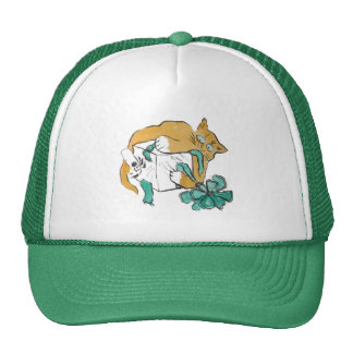 All Paws on the Gift, Sumi-e Trucker Hat