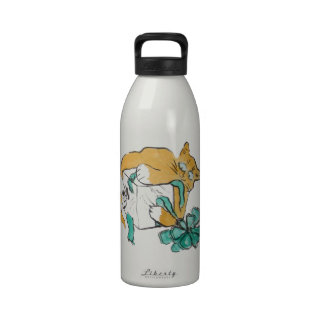All Paws on the Gift, Sumi-e Water Bottle